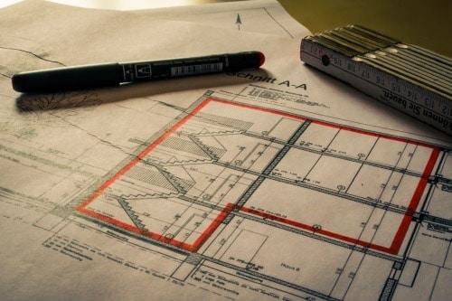 Bauunterlagen für die Vorbereitung einer Luftdichtigkeitsprüfung